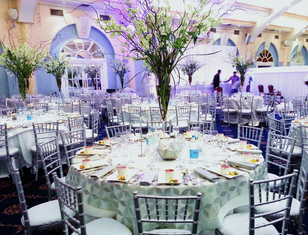 Silver Camelot chairs